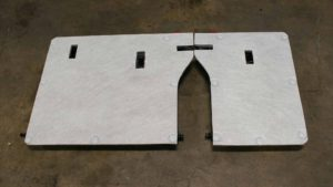 Stratas flat panel 60 40 rear