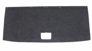 Formed Stratas load floor trunk trim