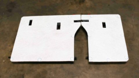 Stratas flat panel